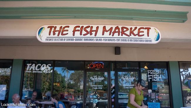The fish market maui restaurants on maui lahaina hawaii for Fish market maui
