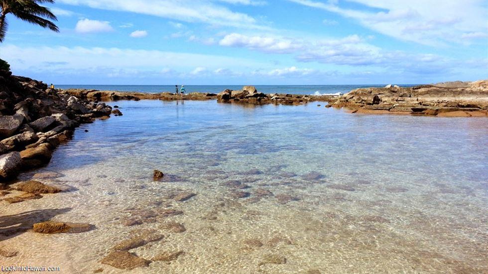 Secret Beach At Lanikuhonua In Oahu Kapolei Hawaii