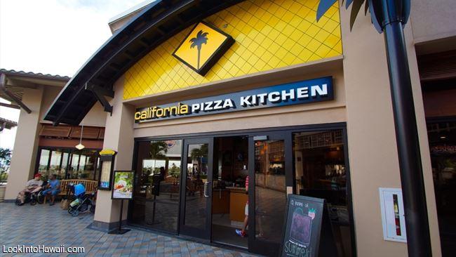 California Pizza Kitchen - Restaurants On Oahu Honolulu, Hawaii