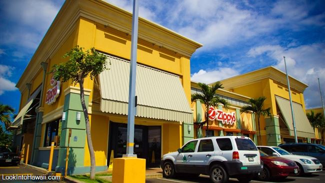 Zippys Restaurants On Oahu Ewa Beach Hawaii