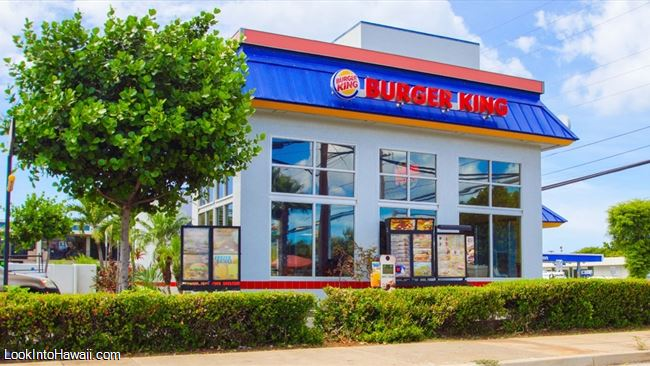 Burger King Restaurants On Oahu Ewa Beach Hawaii