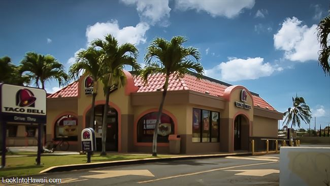 Taco Bell Restaurants On Oahu Ewa Beach Hawaii