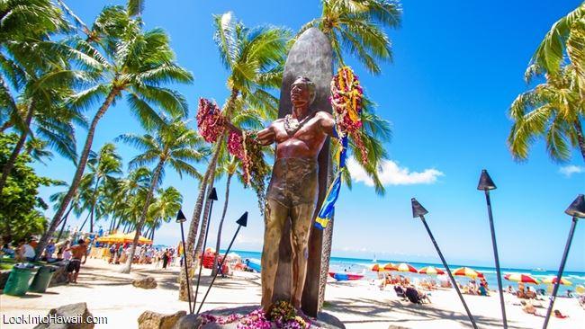 Duke Kahanamoku Statue - Activities On Oahu Honolulu, Hawaii
