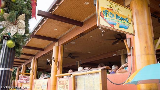The fish hopper restaurants on big island kailua kona for Fish hopper menu