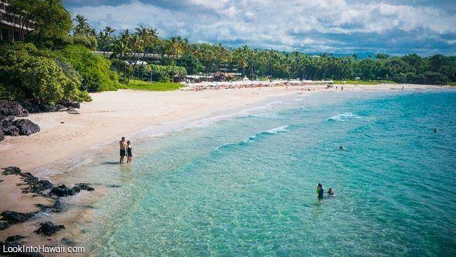 Mauna Kea Beach Kauna Oa Bay