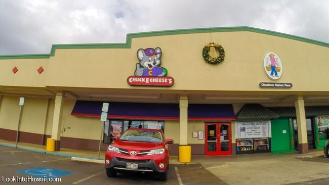 Chuck E Cheeses Restaurants On Oahu Honolulu Hawaii