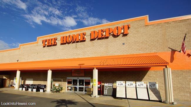 The Home Depot Shops Services On Oahu Kapolei Hawaii