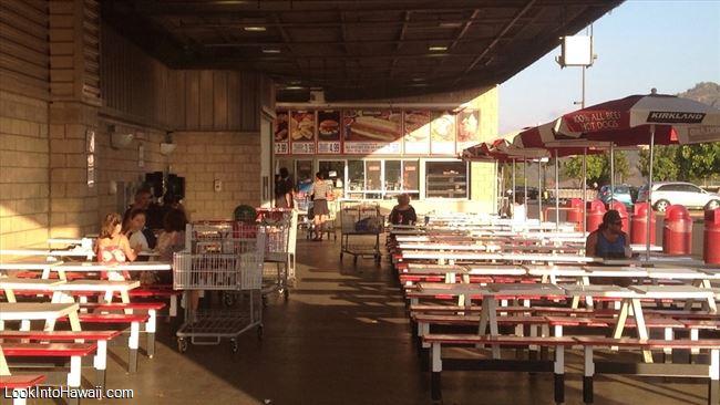 Costco Food Court Restaurants On Kauai Lihue Hawaii