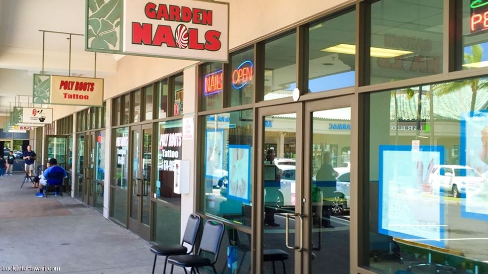 Garden Nails - Shops Services On Oahu Kapolei, Hawaii