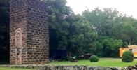 Old Sugar Mill in Koloa and Sugar Monument