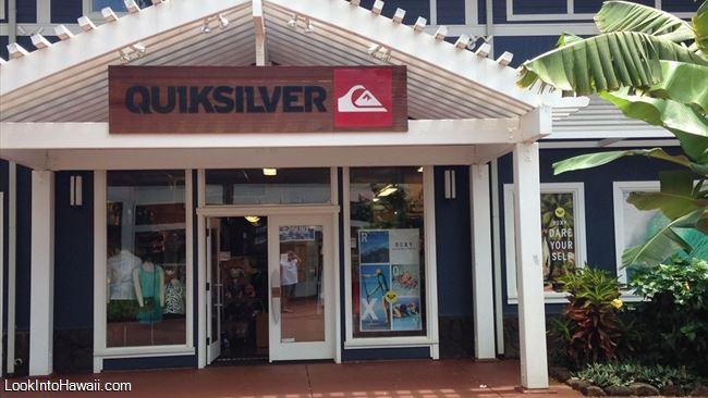 Quiksilver Roxy Poipu - Shops Services On Kauai Koloa, Hawaii