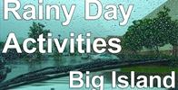 Rainy Day Activities: Big Island