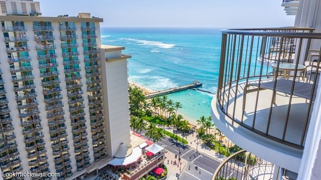 Waikiki Beach Marriott Resort And Spa Ocen View From The 23rd Floor
