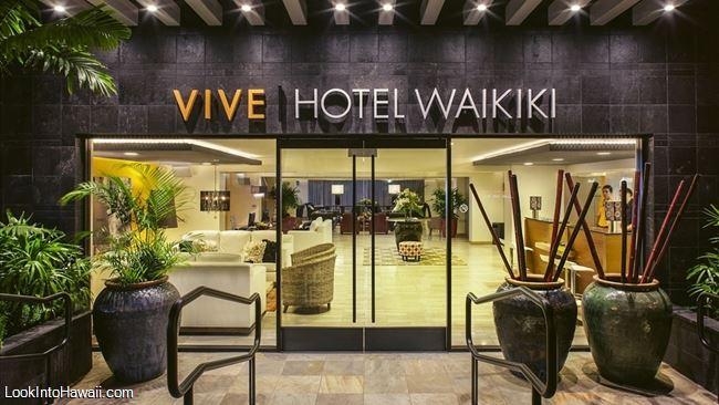 Vive Hotel Waikiki Parking