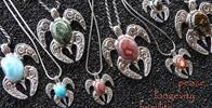 "Owner Supplied Image Of Jewels Of The Reef - With the ""Spirit Honu"" collection of both Nui (large) and Lii (petite) sizes, I have created many different characters to choose from with a number of rich and beautiful gemstones"