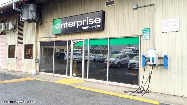 Enterprise Rent A Car Shops Services On Oahu Kaneohe Hawaii