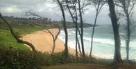 Donkey Beach (Paliku Beach) - view of donkey beach from the walking path - Image Uploaded By rachel m
