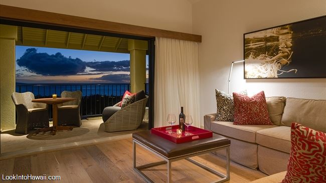 Owner S Image Hotel Wailea Each Of The 72 One Bedroom Suites Is 720 Sq Ft And Features Separate Living Room Kitchenette Deep Soaking Tub