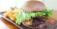 Owner Supplied Image Of Highway Inn - Big Island Grass Fed Beef Burger & Fries - Image Uploaded By Russell R