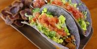 Owner Supplied Image Of Highway Inn - Ahi Tacos on Taro Tortillas - Image Uploaded By Russell R