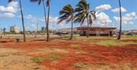Barbers Point Beach Park - Some seriously red dirt, wash your feet before you leave