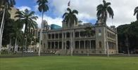 Iolani Palace - View of palace from S. King St. - Image Uploaded By Pete C