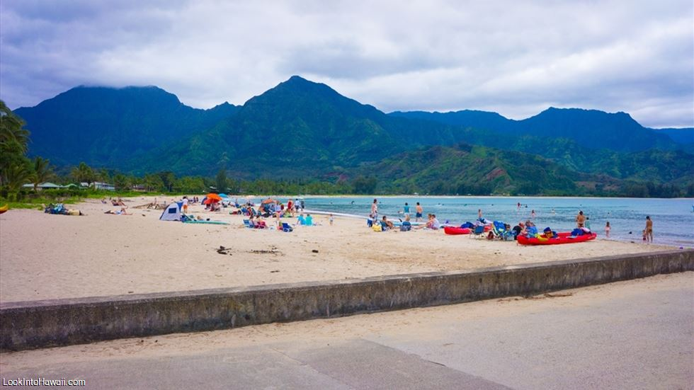 Hanalei Beach Park (Black Pot Beach)