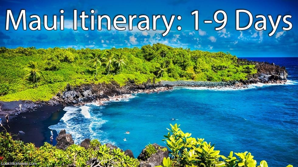 Maui Itinerary - Intro
