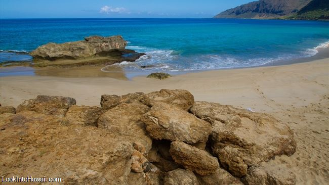 Makua Beach Is The Second To Last That You Ll Find When Heading Up North Waianae Coast West Of O Ahu This One Can Be Hard Spot From