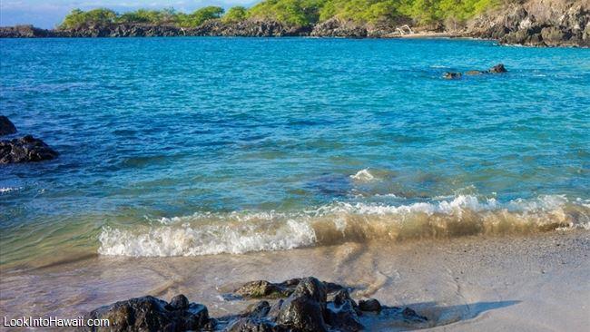 Beaches On Big Island Kamuela, Hawaii