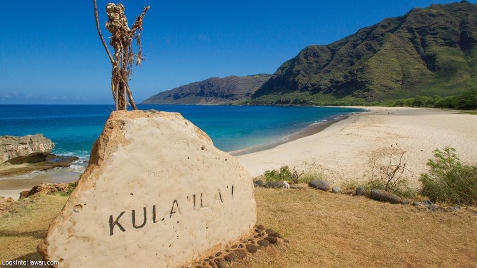 Pray For Beach Makua In Oahu Waianae Hawaii